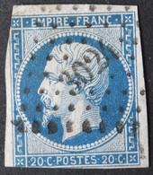 14A Obl PC 3024 St-Chinian (33 Hérault ) Ind 4 - 1849-1876: Période Classique