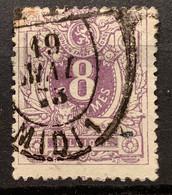 Liggende Leeuw OBP 29 Gestempeld P.P. MIDI 1 - 1869-1888 Lying Lion
