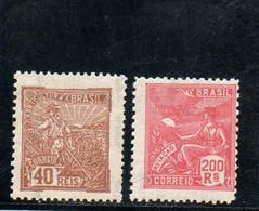 BRESIL 1920-41 * - Neufs
