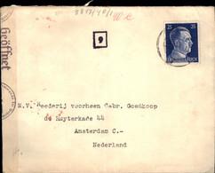 Deutsches Reich - Zensur - 1941 - Amsterdam - Unclassified