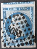14B Margé, Grand Voisin, Obl PC 3053 St-Etienne (84 Loire ) Ind 1 - 1849-1876: Période Classique