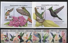 Grenada 1992 Birds Set+2s/s MNH - Otros
