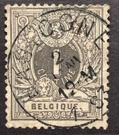 Liggende Leeuw OBP 42 Gestempeld EC BASTOGNE - 1869-1888 Lying Lion