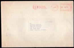 Argentina - 1987 - Lettre - Cachet Spécial - Affranchissement Mécanique - Burroughs - A1RR2 - Cartas