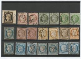 Lot Cérès Dont 20 C.sur Fragment - 1849-1876: Klassik