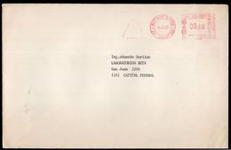 Argentina - 1987 - Lettre - Cachet Spécial - Affranchissement Mécanique - A1RR2 - Cartas