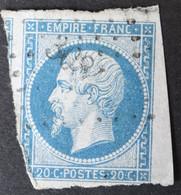 14A 2 Voisins, BdF, Obl PC 3084 St-Georges-d'oleron (16 Charente Inférieure ) Ind 8 - 1849-1876: Période Classique