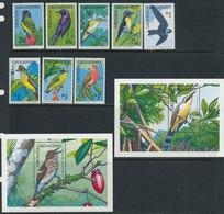 Grenada Grenadines 1990 Birds Set+2s/s MNH - Sin Clasificación