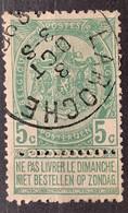 Wapenschild OBP 56 Gestempeld EC LA ROCHE - 1893-1907 Armoiries
