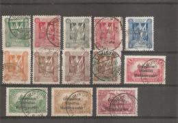 Allemagne - Plébiscites - Marienwerder ( Lot De Timbres Différents Oblitérés) - Territoires Soumis à Plébiscite