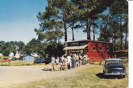 PLEHEREL - L'Entée Du Camping (voiture Années 60) - Sonstige Gemeinden