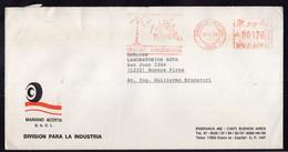Argentina - 1989 - Lettre - Cachet Spécial - Affranchissement Mécanique - Unicef - Los Niños Primero - A1RR2 - Cartas
