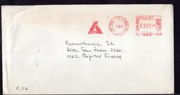 Argentina - 1989 - Lettre - Cachet Spécial - Affranchissement Mécanique - Laboratorios Bago SA - A1RR2 - Cartas