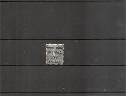 Mémel ( 54 Oblitéré - Curiosité: Surcharge Déplacée Vers Le Bas à Voir) - Used Stamps