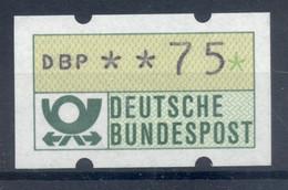Allemagne  1981 - Michel N. 1.1.h.u - Timbre De Distributeur 75 Pf. (Y & T N. 1) - Distribuidores