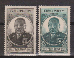 Réunion  N° (yt)  260+261  Neufs ** - Unused Stamps