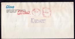 Argentina - 1987 - Lettre - Cachet Spécial - Affranchissement Mécanique - Glaxo - A1RR2 - Cartas
