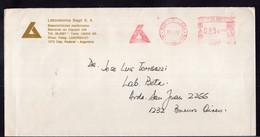 Argentina - 1990 - Lettre - Cachet Spécial - Affranchissement Mécanique - Laboratorios Bago SA - A1RR2 - Cartas