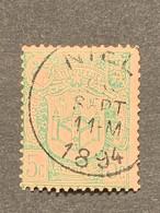 Tentoonstellingen OBP 68 Gestempeld EC NIEL - 1894-1896 Expositions