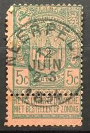 Tentoonstellingen OBP 68 Gestempeld EC NEERPELT - 1894-1896 Expositions
