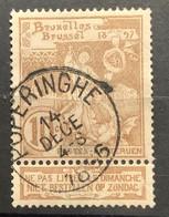 Tentoonstellingen OBP 72 Gestempeld EC POPERINGHE - 1894-1896 Expositions