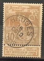 Tentoonstellingen OBP 72 Gestempeld EC BRUGES - 1894-1896 Expositions