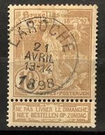 Tentoonstellingen OBP 72 Gestempeld EC LA ROCHE - 1894-1896 Expositions