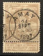 Tentoonstellingen OBP 72 Gestempeld EC AMAY - 1894-1896 Expositions