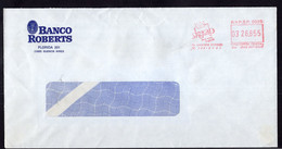 Argentina - Circa 1990 - Correspondencia - Skycab SA Permisionario - Banco Roberts - A1RR2 - Cartas