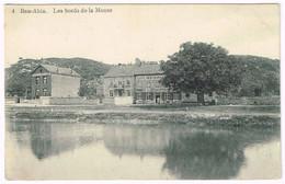 BEN-AHIN 1910 Les Bords De La Meuse - Cafe Restaurant - Huy