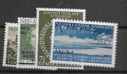 1953 MH Antillen NVPH 244-47 - Niederländische Antillen, Curaçao, Aruba