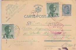 ROMANIA  --  WW2  --  CARTE POSTALE    --  ZENSUR OKW  --  OBERKOMMANDO DER WERMACHT  --  1940 - 2. Weltkrieg (Briefe)