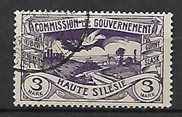 HAUTE SILESIE    -    1921 .   Y&T N° 46 Oblitéré - Silesia (Lower And Upper)