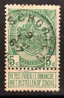 Wapenschild OBP 83 Gestempeld EC SCHOOTEN - 1893-1907 Stemmi