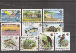 Seychelles - Iles éloignées ( Lot De Timbres Différents Oblitérés) - Seychelles (1976-...)