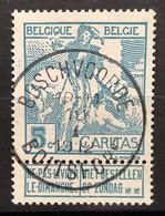 Caritas OBP 86 Gestempeld EC BOSCHVOORDE BOITSFORT - 1910-1911 Caritas
