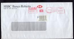 Argentina - Circa 1990 - Lettre - Courrier Privé OCA - Circulé - Envoyé En Buenos Aires - HSBC Banco Roberts - A1RR2 - Cartas