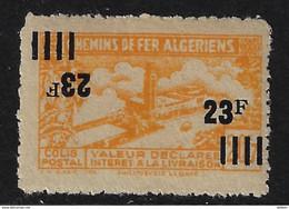 ALGÉRIE 1924/1948 - YT Colis Postaux 146/148/150/196a + YT17 Mil 4 + YT205 ND (**) - Parcel Post