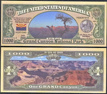 !!! USA - FANTASY NOTE -  GRAND  CANYON  NATIONAL  PARK  , 2011 - UNC - Other