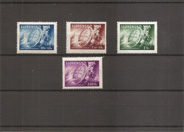 Slovaquie ( 118/121 XXX -MNH) - Unused Stamps