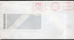 Argentina - 1987 - Lettre - Cachet Spécial - Affranchissement Mécanique - Equitel - A1RR2 - Cartas