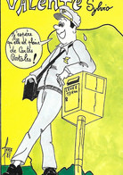 Humour - Poste Postes - Levée Boîte Lettres Facteur  - Pleine De Cartes Postales - Illustrateur FARABOZ- Valente Sylvio - Poste & Postini