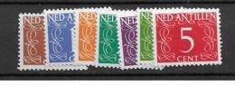 1950 MNH Nederlandse Antillen  NVPH 211-17 - Niederländische Antillen, Curaçao, Aruba