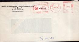 Argentina - 1988 - Lettre - Cachet Spécial - Affranchissement Mécanique - Bandeleta Parlante - A1RR2 - Cartas