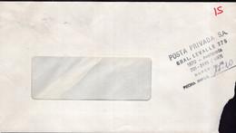 Argentina - Circa 1990 - Lettre - Courrier Privé Posta Privada SA - Circulé - Envoyé En Buenos Aires - A1RR2 - Cartas
