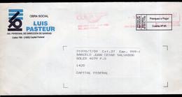 Argentina - 1997 - Courrier Privé Mail Corp - Circulé - Envoyé En Buenos Aires - Luis Pasteur - A1RR2 - Cartas