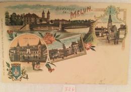 Souvenir De Melun-324 - Gruss Aus.../ Gruesse Aus...