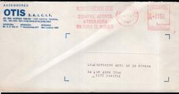 Argentina - 1987 - Lettre - Cachet Spécial - Affranchissement Mécanique - Ascensores OTIS - A1RR2 - Cartas