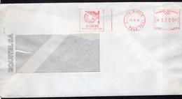 Argentina - 1990 - Lettre - Cachet Spécial - Affranchissement Mécanique - Equitel - Siemens - A1RR2 - Lettres & Documents