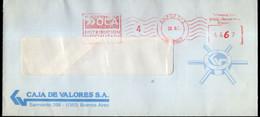 Argentina - Circa 2000 - Courrier Privé OCA - Circulé - Envoyé En Buenos Aires - Caja De Valores - A1RR2 - Lettres & Documents